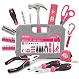 Hi-Spec 42 Piece Household DIY Hand Tool Kit Set. Everyday Repairs at Home