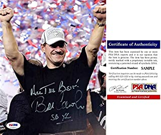 Bill Cowher Signed - Autographed Pittsburgh Steelers 8x10 inch Photo with Super Bowl inscription with PSA/DNA Certificate of Authenticity (COA)