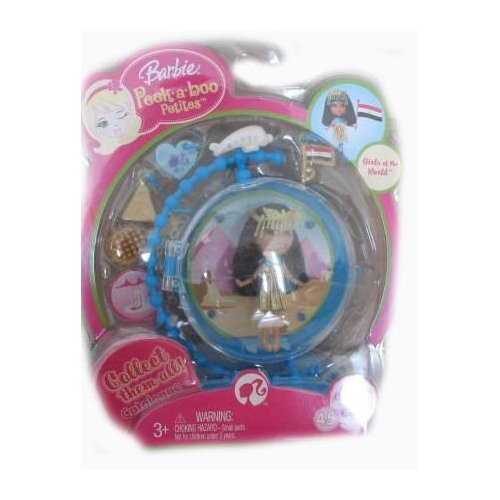 Muñeca Barbie Peekaboo Petites #45 Girls of the World Chione of Caira
