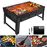 GolWof Barbecue Portable Barbecue Pliable Barbecue à...