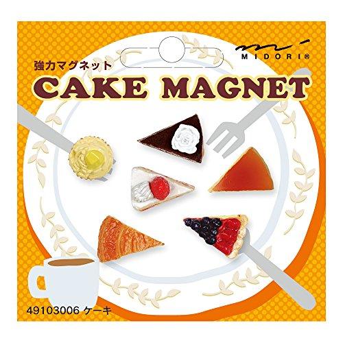 Midori OJ Mini Magnet, Cake Magnet (49103006)
