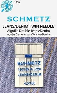 Schmetz Double Denim Needle 4.0/100 Double Denim 4.0/100 1 Needle S-1738