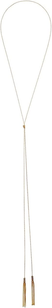 LAUREN Ralph Lauren - 60 Inches Lariat Tassel Necklace