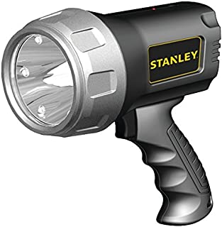 New STANLEY SL3HS Rechargeable Li-Ion LED Spotlight with HALO Power-Saving Mode (600 Lumens, 3 Watts)