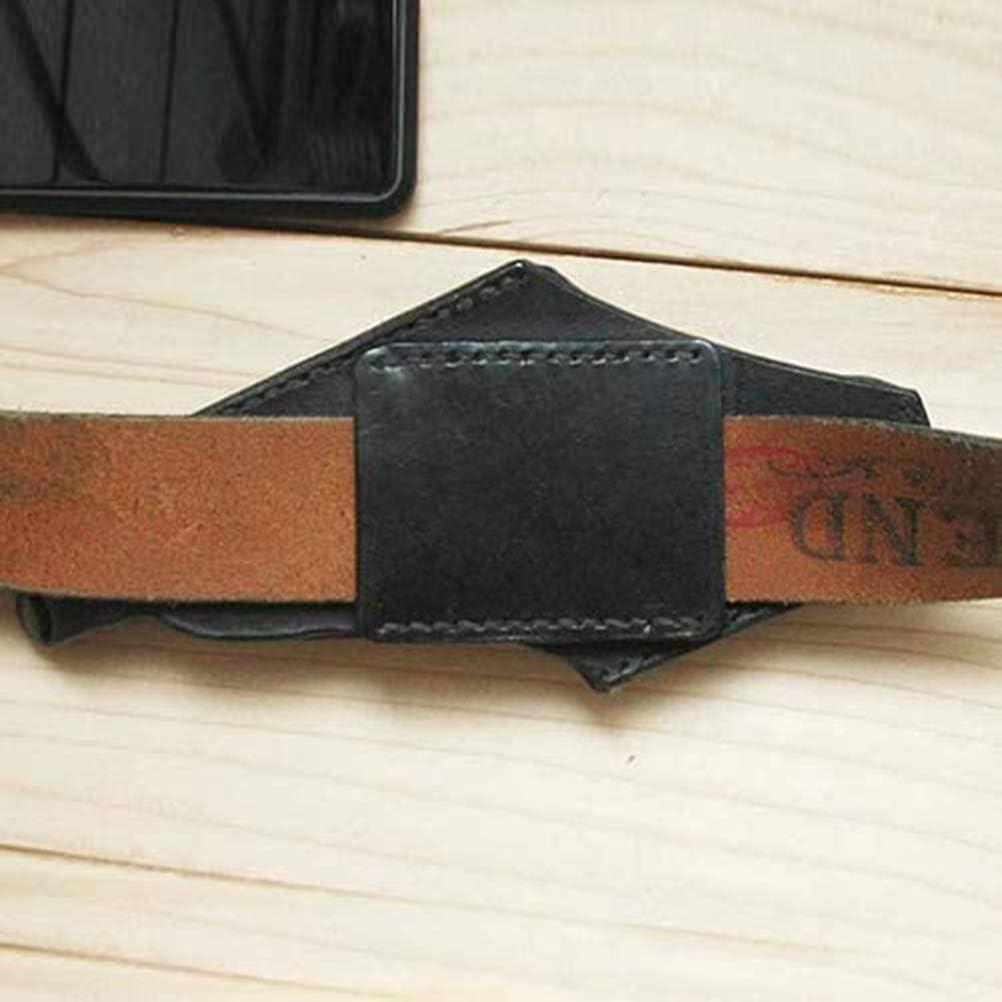Rawisu Funda para tel/éfono m/óvil Funda para cintur/ón Funda para tel/éfono m/óvil Funda Retro para cintur/ón de Cuero PU Universal Cintura para Hombre Colgante para Exteriores 4.7-6.5 Pulgadas Soporte