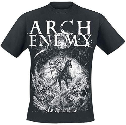 Arch Enemy My Apocalypse Männer T-Shirt schwarz XL 100% Baumwolle Band-Merch, Bands, Nachhaltigkeit
