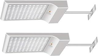 Luces Solares 【1200lm 5200mAh Potente Versión 2 Piezas