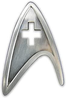 QMX Star Trek Medical Insignia Badge
