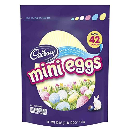 Cadbury Easter Candy Coated Mini Eggs Milk Chocolate, 42 Ounce