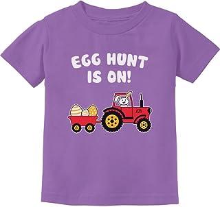 Tstars - Easter Egg Hunt Gift for Tractor Loving Kids Toddler Kids T-Shirt