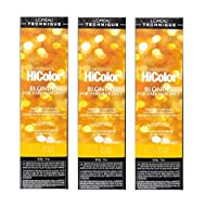 LoreaI Excel Hicolor HiLights NATURAL BLONDE Permanent Hai Dye 49.29g (Natural Blonde 3pks)