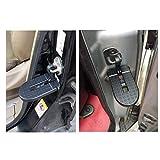 LFOTPP Ateca Arona Tarraco SUV - Pedal plegable para puerta de coche, aleación de aluminio, martillo de seguridad, color negro