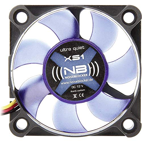 Noiseblocker XS-1 BlackSilentFan Lüfter (50x50x10mm)