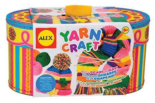 Alex - Weben für Kinder in mehrfarbig