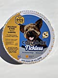 DogCare LLC Collar Me Tickless 6 Month flea and tick Collar for Dogs One Size fits All