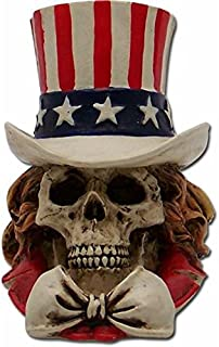 Vintage Parts 62443 Uncle Sam Skull Custom Shift Knob/Topper