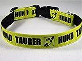 Halsband'Tauber Hund' bis 40 cm Halsumfang