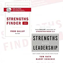 Tom Rath StrengthsFinder 2.0 and Strengths Based Leadership 2 Books Bundle Collection