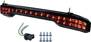 Compatible with Harley-Davidsons LED King Tour Pack Brake/Turn/Tail Lamp Kit (Smoke Lens)
