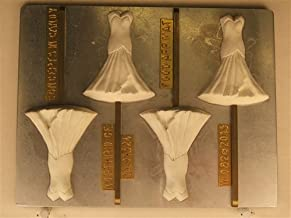 wedding dress chocolate mold