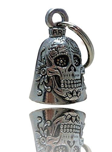 Daywalker Bikestuff Glücksbringer • Guardian Bell • Tag der Toten • Mexico • Dia de los Muertos (mit Halterung)