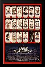 The Grand Budapest Hotel 28x38 Large Black Wood Framed Movie Poster Art Print