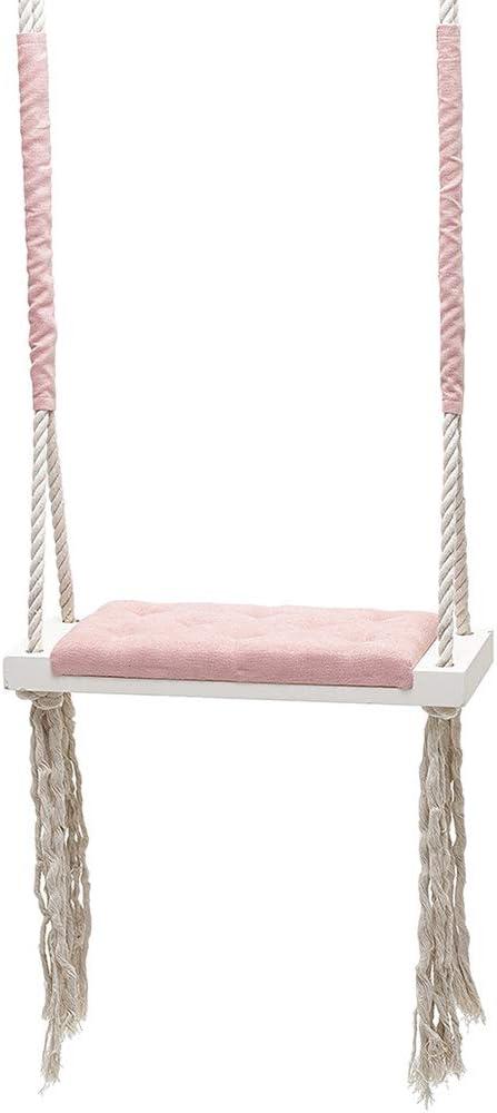 HIMU Wood Tree Swing 値下げ Seat Ceiling Outdoor Rope 即納送料無料! Woo Indoor