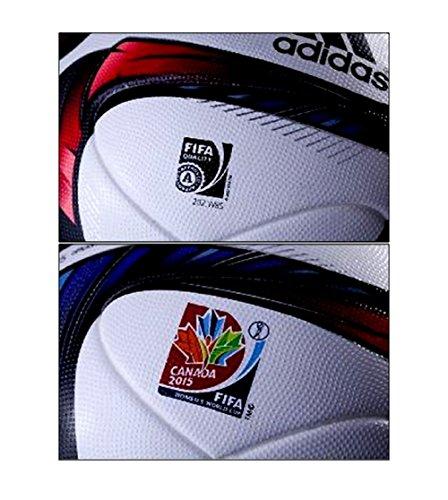 Pelota de fútbol Partido Canadá Copa Mundial Femenina de la FIFA ...
