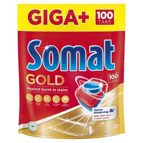 Somat Gold tabletki do zmywarki Giga+ 100szt.