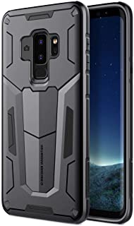 Samsung Galaxy S9 Case, Nillkin Defender II Series Armor Shock Proof Hard Case Back Cover [Black Color]