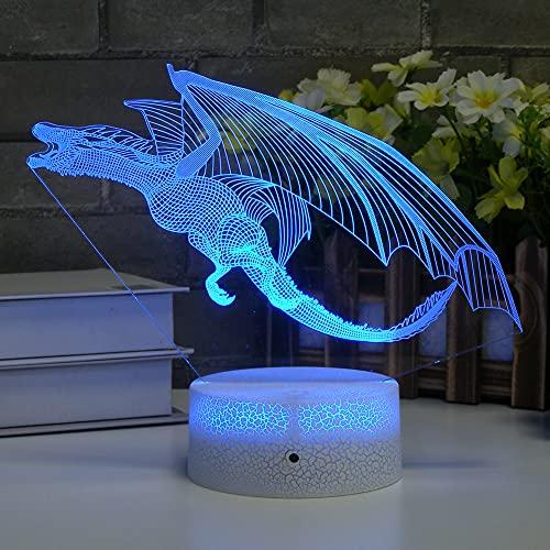 Dragon 3D Lamp