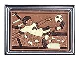 Tavoletta di cioccolato in confezione regalo - tema calcio - 85 g