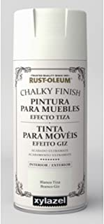 Spray Efecto Tiza Chalk Paint Rust-Oleum Xylazel - 801 Blanco Tiza
