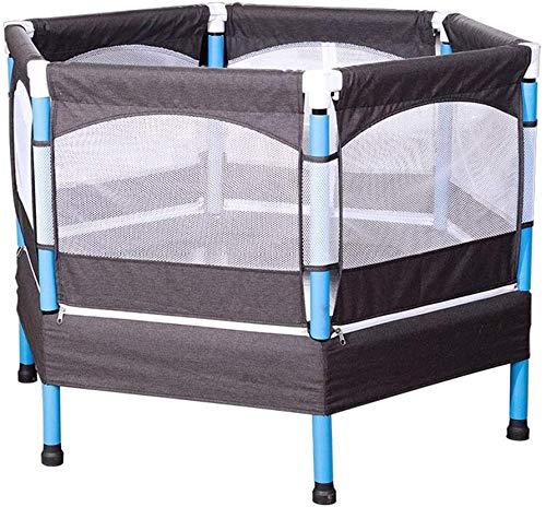 40 inch kinder trampoline met veiligheidsbehuizing voor binnen of buiten Oefening Fitness Trampoline Max. Belasting 50 kg(Upgrade)