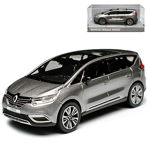 Renault Espace V Grau Ab 2015 1/64 Norev Modell Auto