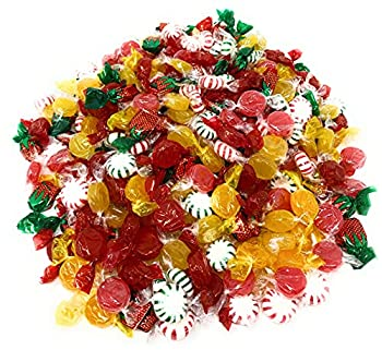 American Favorites Candy Party Mix Individually Wrapped Hard Candies Bulk Assortment 7 Flavors Variety Pack Resealable Pouch 4 Lb 300+pcs  64 Oz