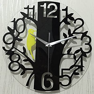 Deny Designs Iveta Abolina Geo Steps 12-inch Round Clock 57461-roucls