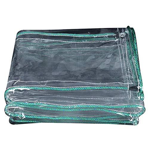 MHBGX Lona Grande Resistente, Lonas, 500G / M² Lona Transparente de Pvc para Acampar Carpa a Prueba de Lluvia Lámina Anti-Uv a Prueba de Polvo de Plástico,el 1X4M,el 1X4M