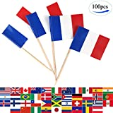 JBCD 100 Pcs France Flag Tooth...