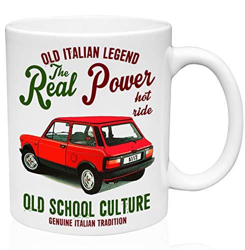 Autobianchi A112 Abarth 11oz Ceramic High Quality Coffee Mug