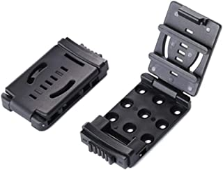 HECOPRO Tactical Universal Utility EDC Belt Clip Large with Hardware