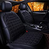 Heated Car Seat Cushion Cover, Universal 12V Multifunctional Car Seat Warmer Fast Heated and Adjustable Temperature for Cold Weather Driving - Suitable for Vehicles, Home, Office