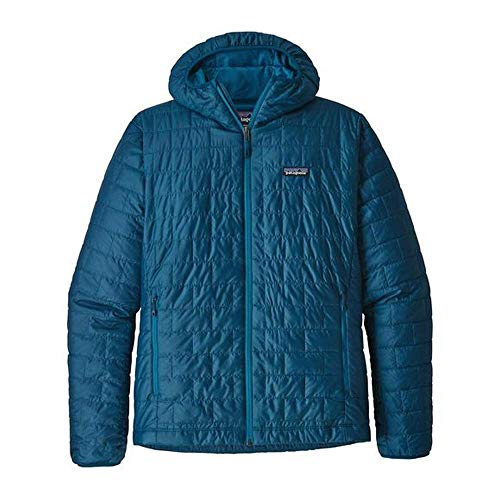 Patagonia Herren M's Nano Puff Hoody Jacket, blau (Big Sur Blue), XL
