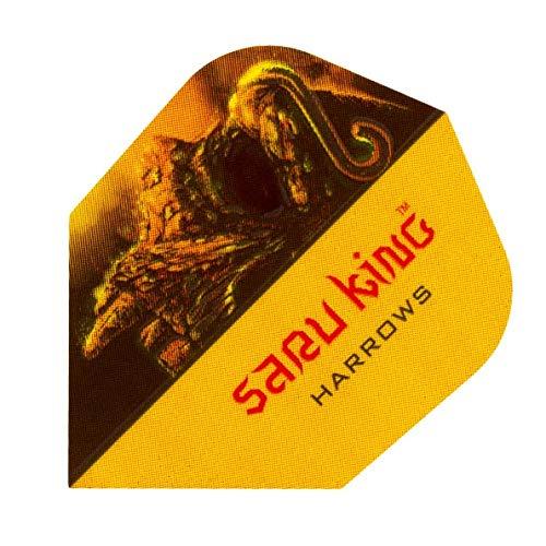 Harrows Darts Flights Prime saru King Gold