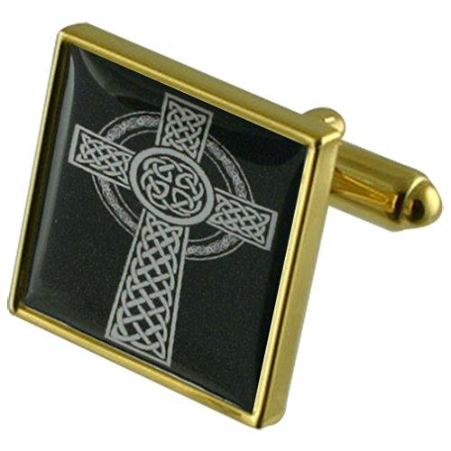 Select Gifts Celtic Viking Cross Manchette avec gravé souvenir