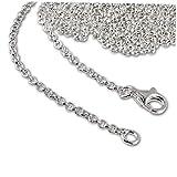 Plata de ley 925 SilberDream Charm Collar de 100 cm de la cadena para colgantes pulsera colgante FC00291-1