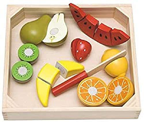 Woodyland Pretend Play de Coupe de Fruits (19)