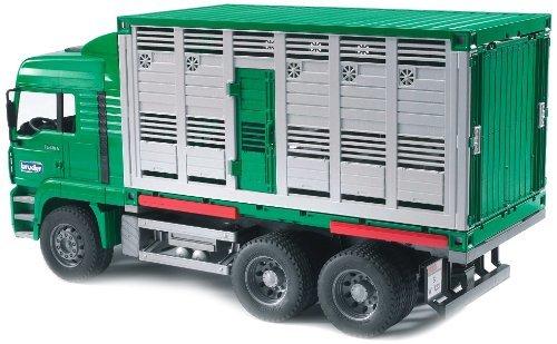 Bruder-2749 Man Camión de Ganado con una Vaca (2749)