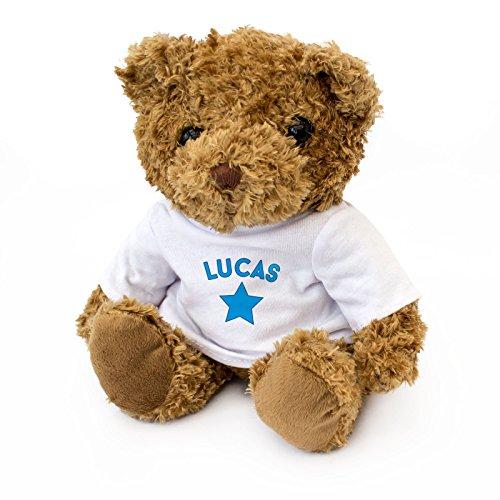 London Teddy Bears Lucas Ours en Peluche Mignon et câlin Cadeau de Noël Anniversaire