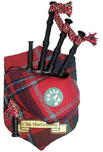 iLuv MacGillivray Clan Musicale Cornamusa Calamita da Frigo, Prodotto in Scozia